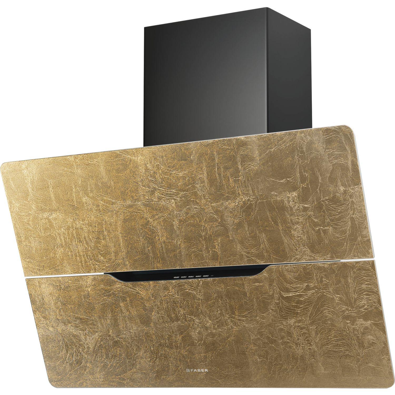 solido wand dunstabzugshaube jolie gold leaf 80 gold. Black Bedroom Furniture Sets. Home Design Ideas