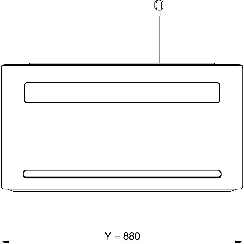 Gutmann wand dunstabzugshaube amplia 5310w880bbl ohne turm for Gutmann dunstabzugshaube