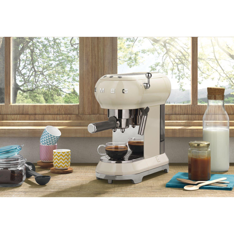 SMEG Espresso Kaffeemaschine ECF01CREU