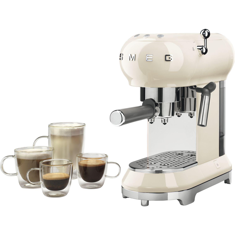 smeg espresso kaffeemaschine ecf01creu. Black Bedroom Furniture Sets. Home Design Ideas