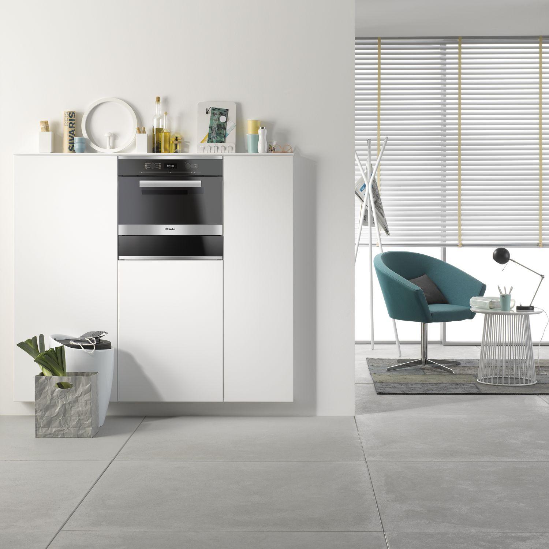 miele einbau dampfgarer mit backofenfunktion dgc 6400. Black Bedroom Furniture Sets. Home Design Ideas