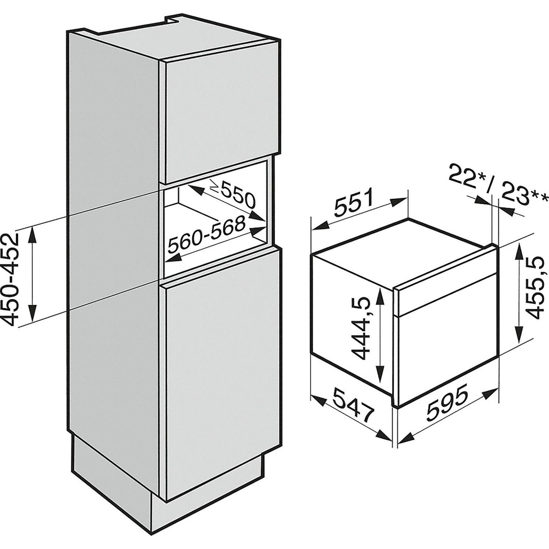 miele kompakt backofen mit mikrowelle h 6800 bmx grifflos brillantwei. Black Bedroom Furniture Sets. Home Design Ideas