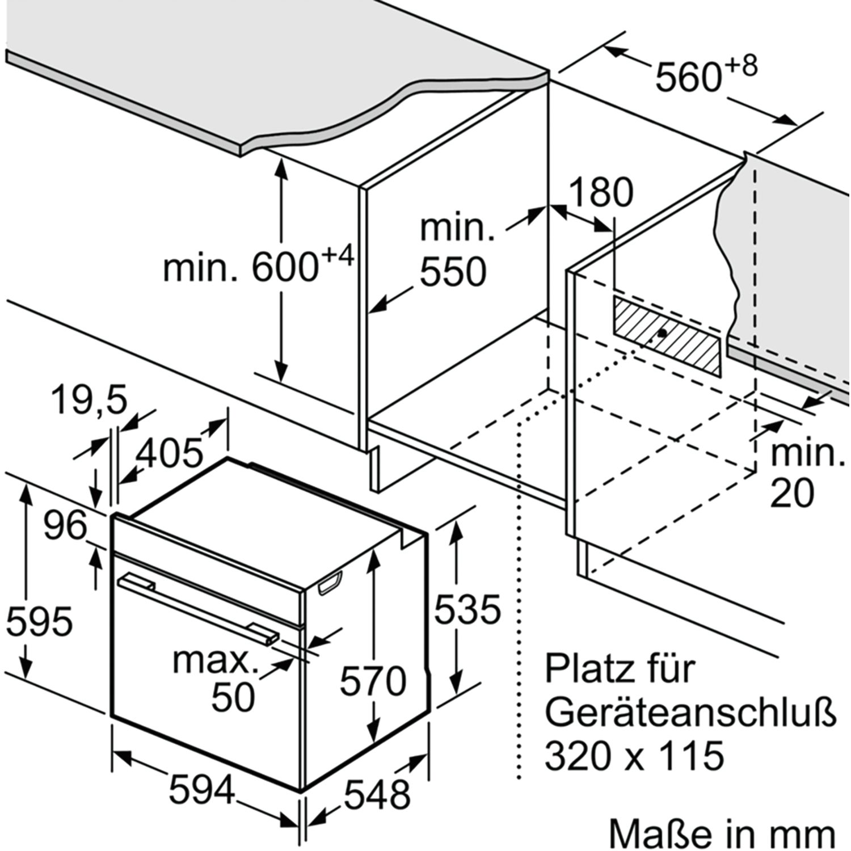 Bosch Herd Het237ys0 Schwarz