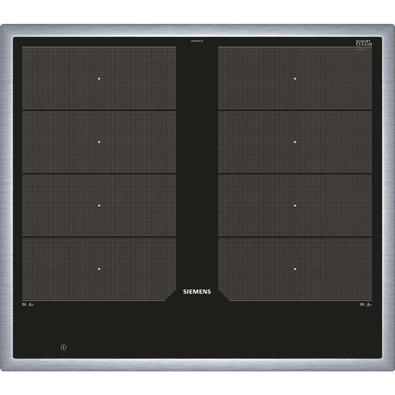 siemens kochfeld ex645lxc1e glaskeramik induktion autark 600 mm. Black Bedroom Furniture Sets. Home Design Ideas