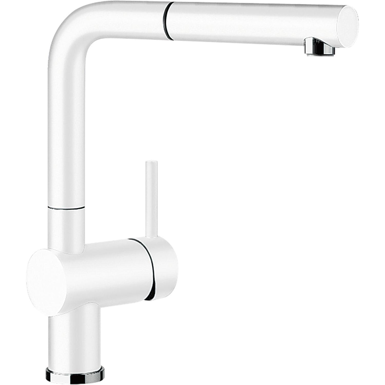 BLANCO Küchenarmatur Linus-S 516692 druckfest, weiß