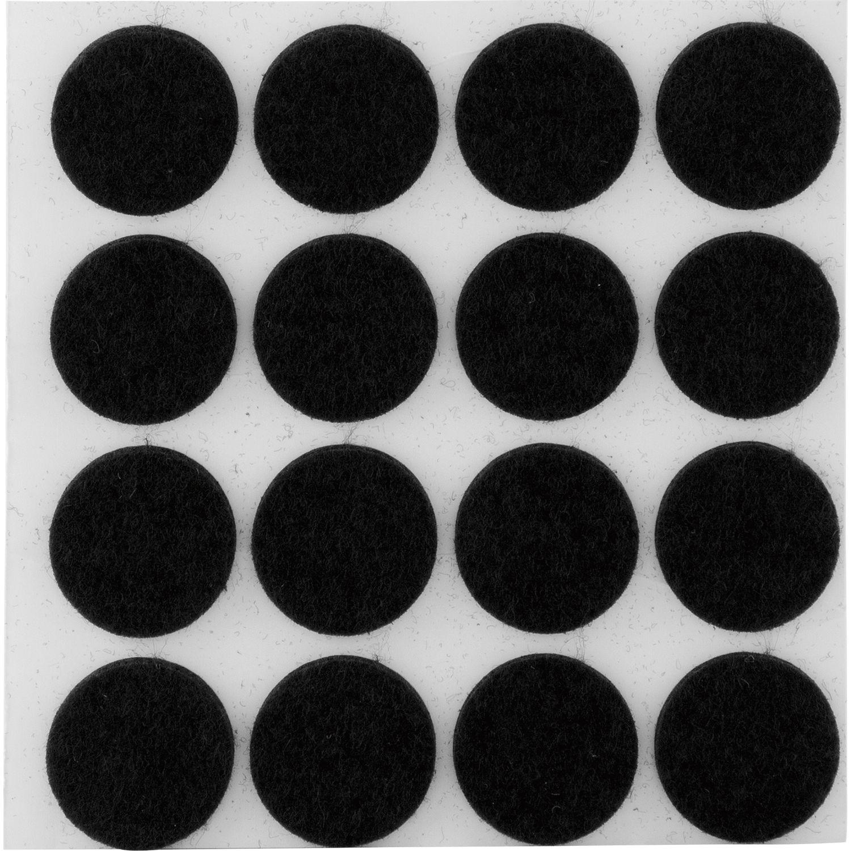 rund selbstklebend braun 16 Filzgleiter 22 mm