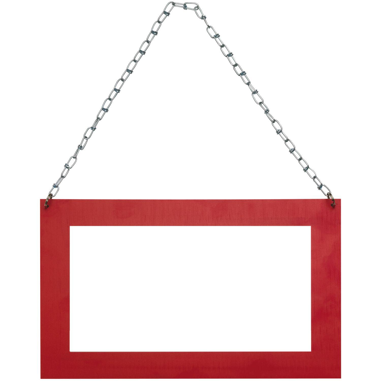 Langguttransportschild– 2mm Rahmen rot – nicht rückstrahlend ...