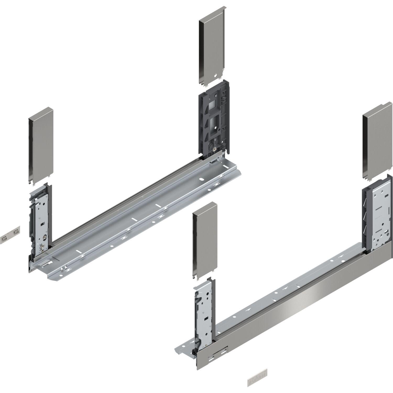 INOX NL 600 TIP-ON 70kg BLUM LEGRABOX pure SET H F
