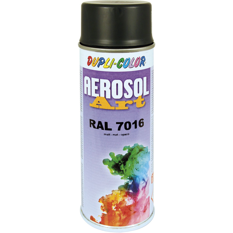 Dupli Color Aerosol Art Spray 400ml Anthrazit Matt Ral 7016
