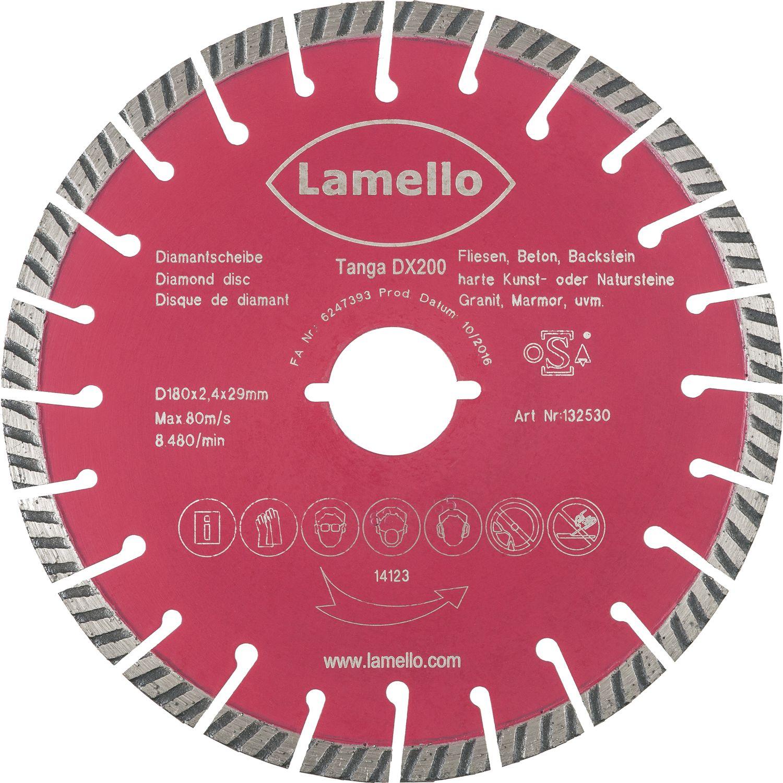 LAMELLO Diamant Trennscheibe ø Mm Zu Tanga DX Für Beton - Beton putz auf fliesen
