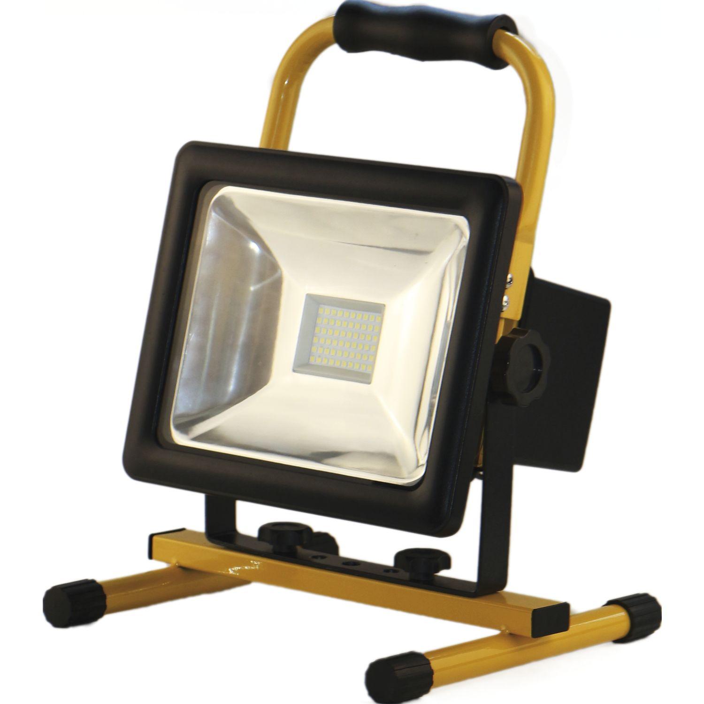 shada led akku strahler ip65 50 watt 3500 lumen m netzteil u gestell. Black Bedroom Furniture Sets. Home Design Ideas