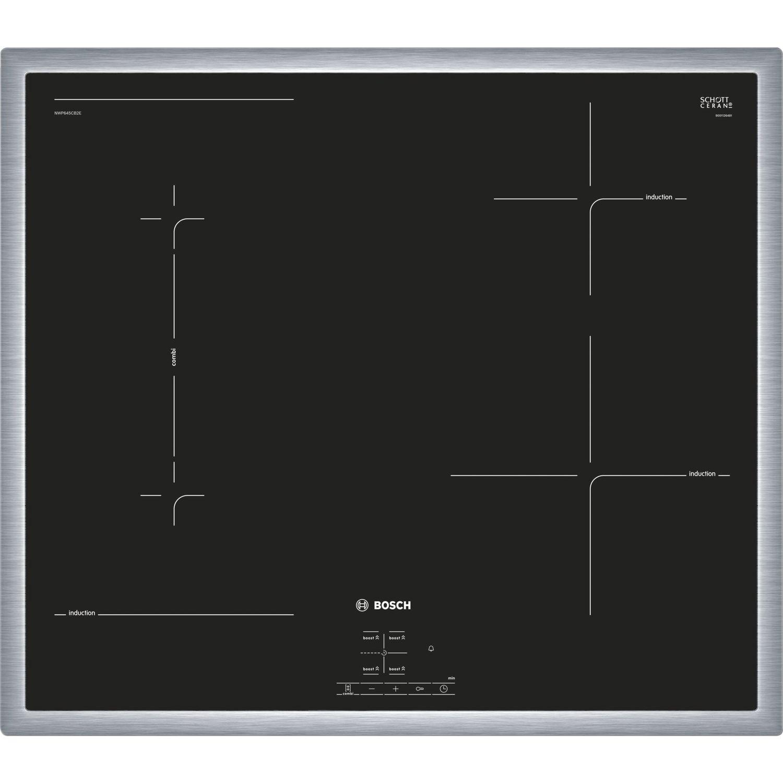 bosch kochfeld nwp645cb2e glaskeramik induktion 600 mm. Black Bedroom Furniture Sets. Home Design Ideas