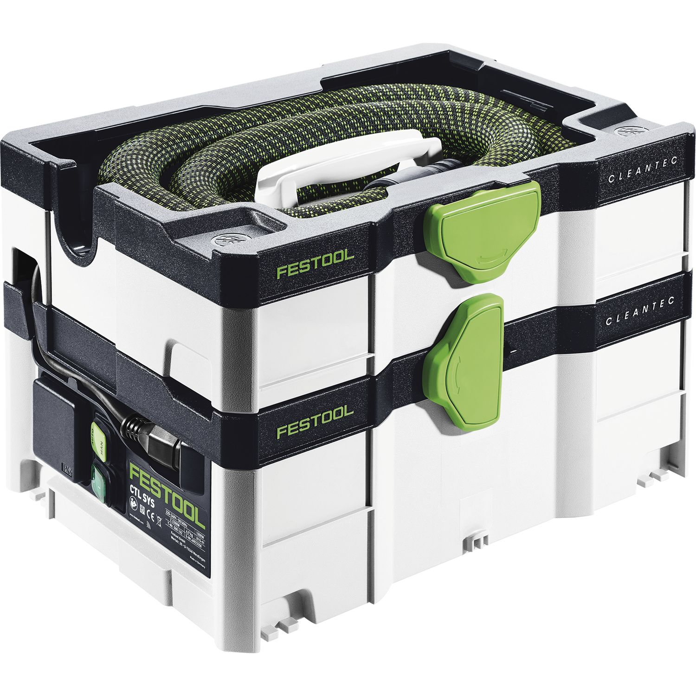 festool absaugmobil ctl sys cleantec 1000 watt staubklasse l. Black Bedroom Furniture Sets. Home Design Ideas