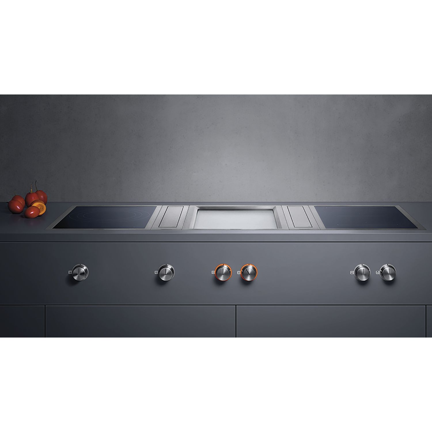 gaggenau teppan yaki kochstelle vp414110 edelstahl autark. Black Bedroom Furniture Sets. Home Design Ideas