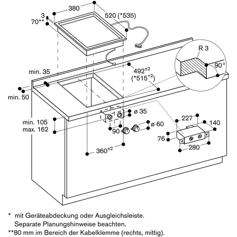 gaggenau teppan yaki kochstelle vp414110 edelstahl autark. Black Bedroom Furniture Sets. Home Design Ideas