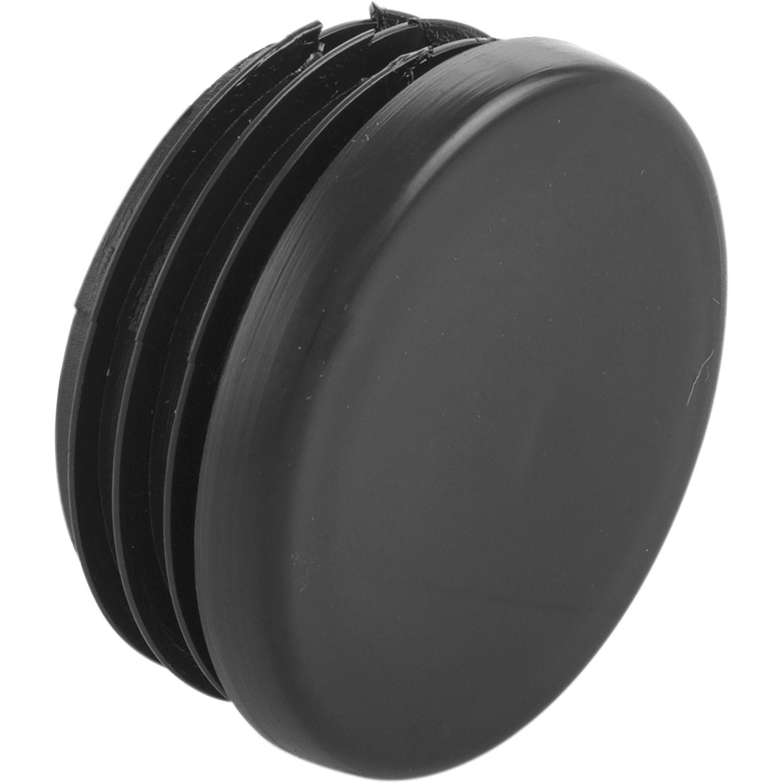 bar reling endkappe f r rohr 38 mm ks schwarz. Black Bedroom Furniture Sets. Home Design Ideas