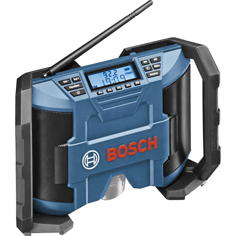 BOSCH Akku-Radio GPB12V-10 für Spannung 12,0 Volt ohne Akku und ...