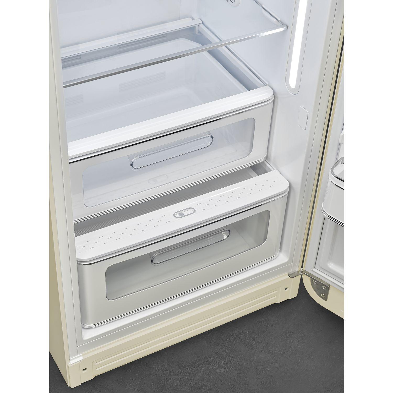 Abb. 1 Life Plus °C-Zone (nahe 0°C), Schublade mit transparentem Sichtfenster, rollengeführt; 1 Obst/Gemüse-Schublade mit transparentem Sichtfenster rollengeführt, regelbare Luftfeuchte