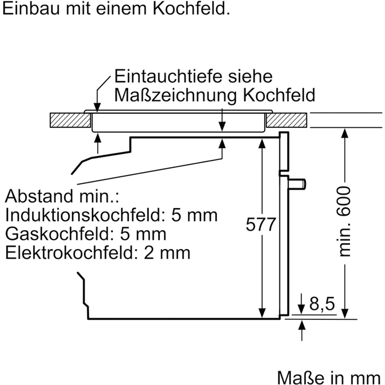 Neff Backofen Bcc3876 Edelstahl