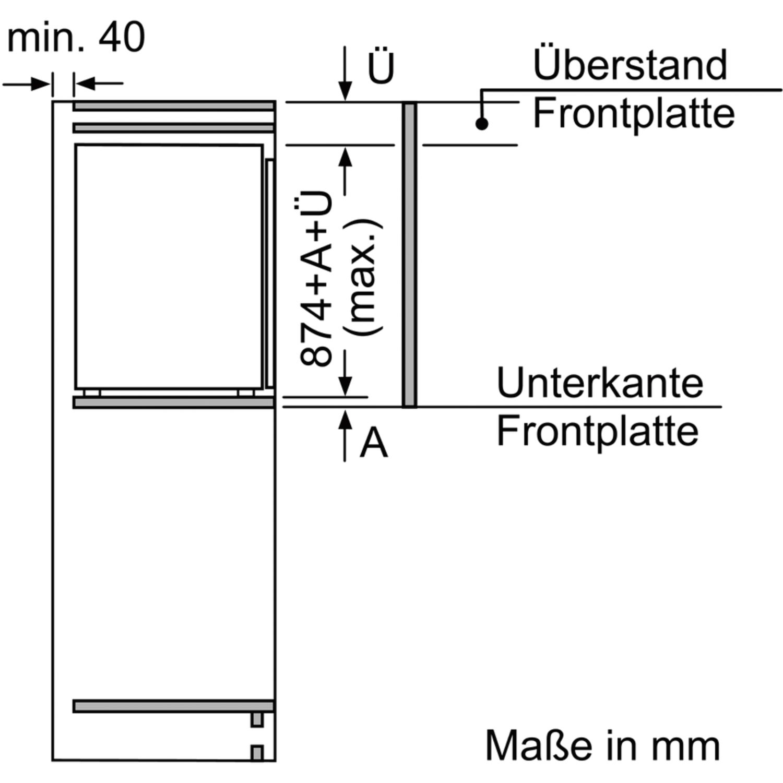 Neff Gefrierschrank G265a2 Integrierbar Nischenhohe 880 Mm
