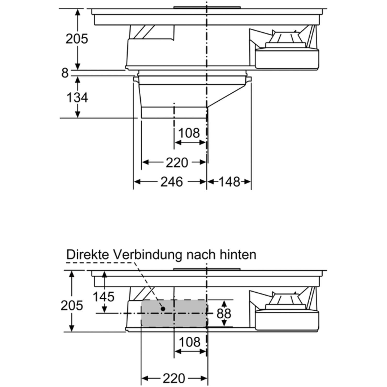 neff kochfeld 80 cm induktion interesting neff ttsbn cm. Black Bedroom Furniture Sets. Home Design Ideas