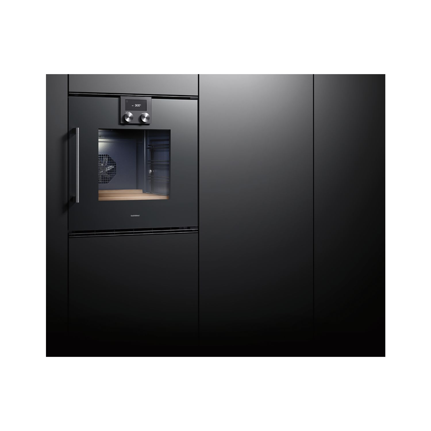 gaggenau backofen bop220101 anthrazit t ranschlag rechts. Black Bedroom Furniture Sets. Home Design Ideas