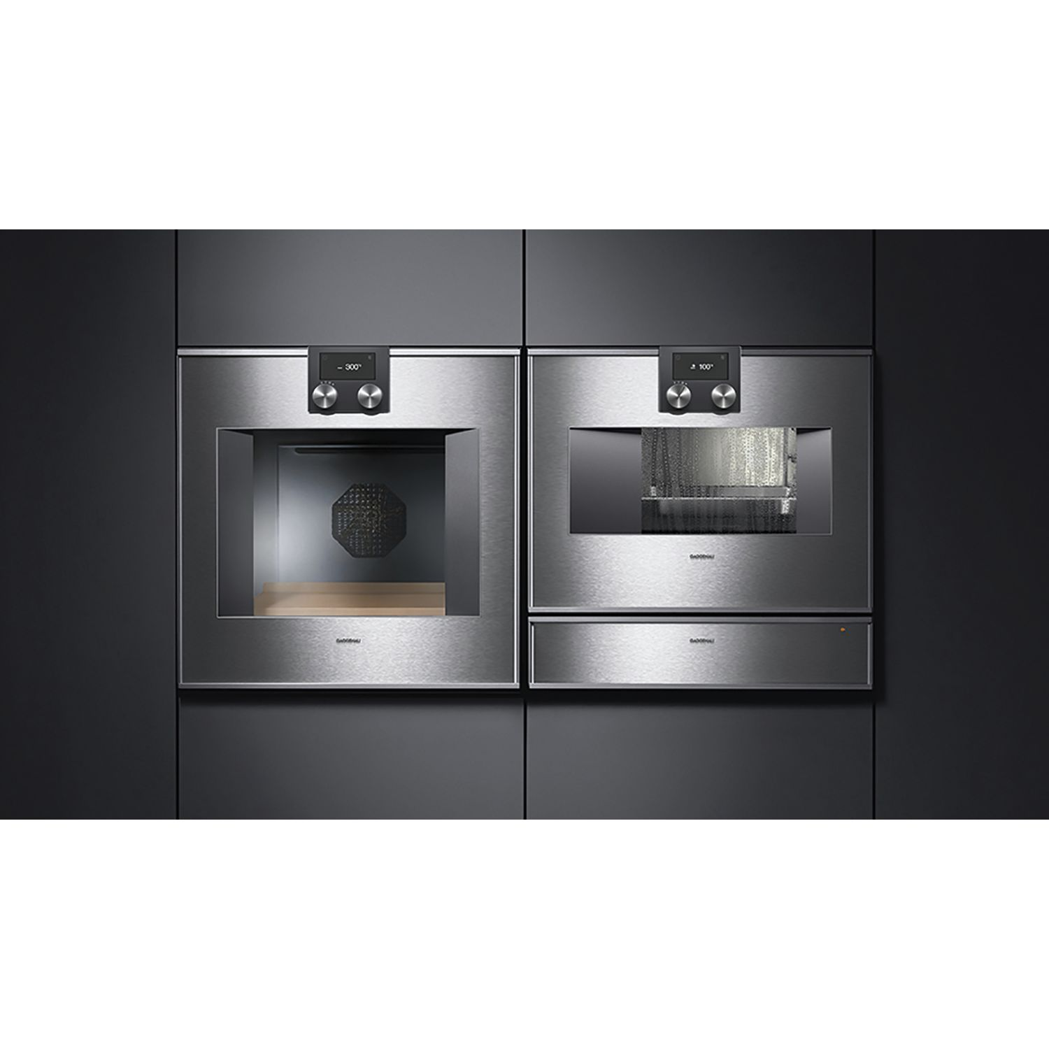 gaggenau backofen bo470111 edelstahl bedienung oben. Black Bedroom Furniture Sets. Home Design Ideas