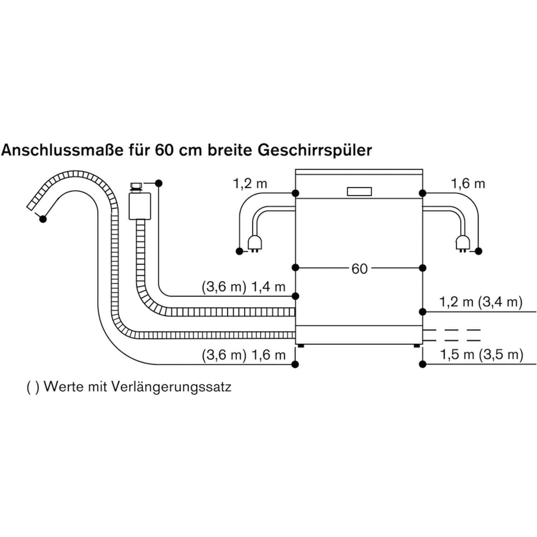 gaggenau geschirrsp ler df481161 vollintegriert nische 600 mm. Black Bedroom Furniture Sets. Home Design Ideas