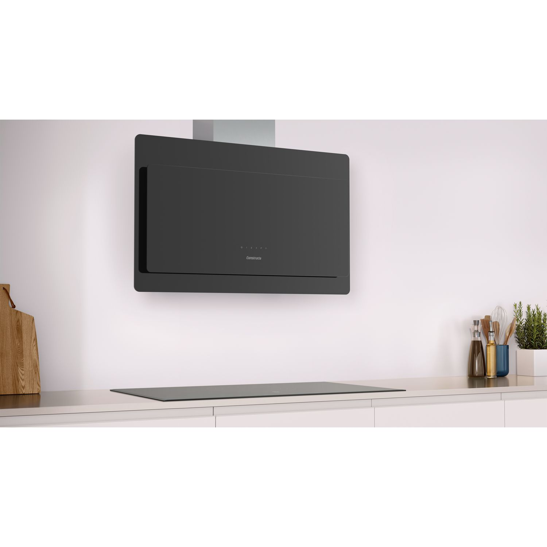 constructa wand dunstabzugshaube cd699860 mit glasschirm 900 mm. Black Bedroom Furniture Sets. Home Design Ideas