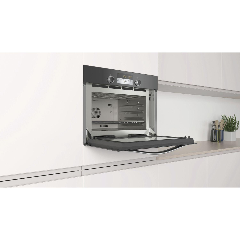 constructa mikrowellen backofen mit dampfgarfunktion. Black Bedroom Furniture Sets. Home Design Ideas