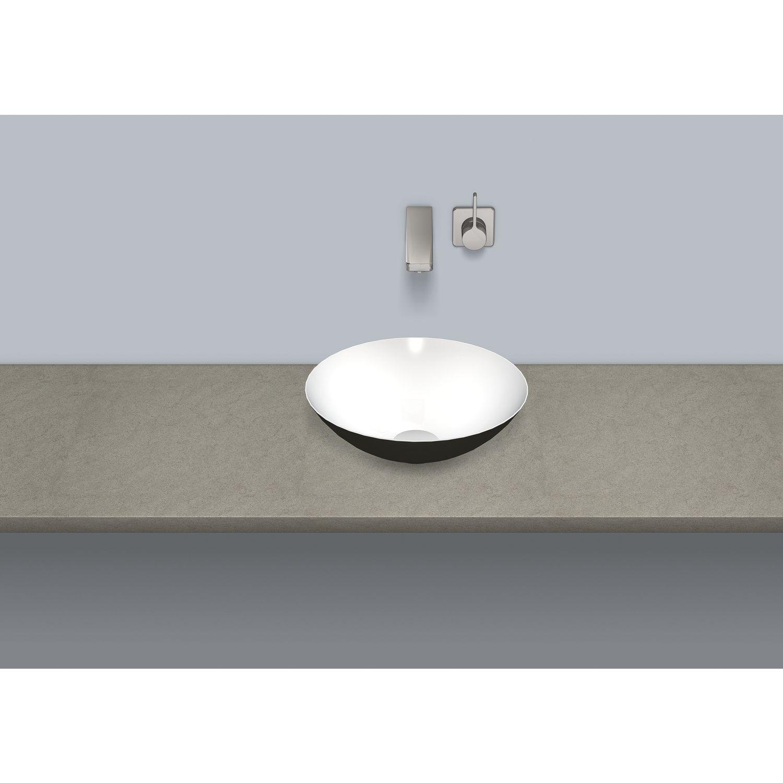 alape schalenbecken a form sb k360 gs bicolor wei schwarz. Black Bedroom Furniture Sets. Home Design Ideas