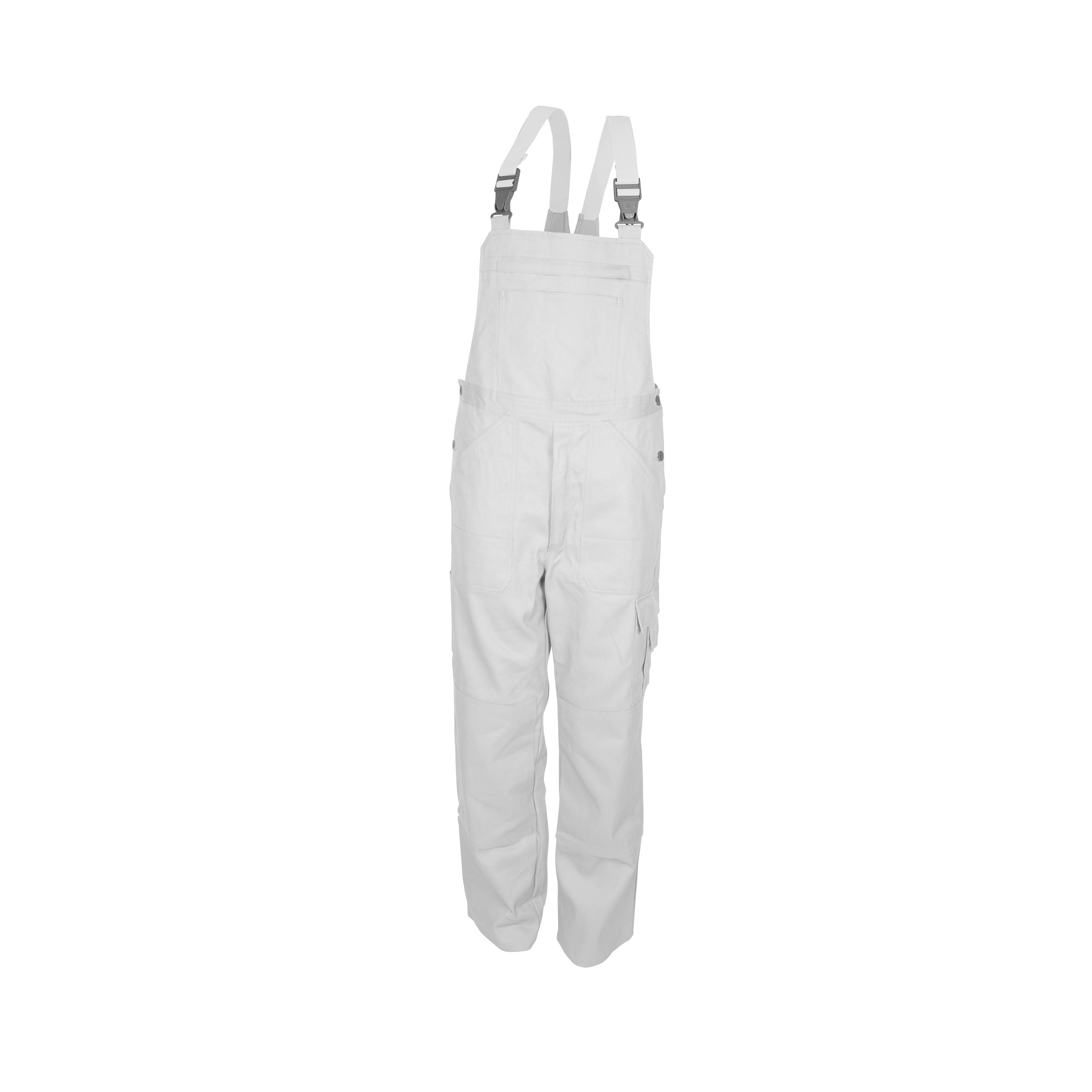 KÜBLER kantáros nadrág Quality Dress fehér 46-os méret 100%pamut 0aada2a08e