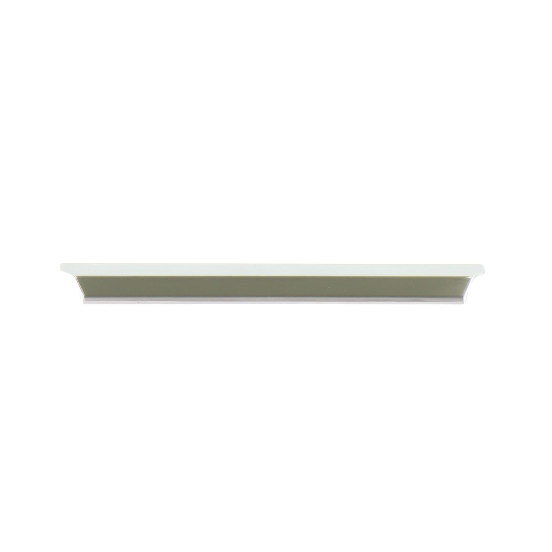 Maniglie Ad Incasso Per Armadi barra maniglia ad incasso 4 mm, b 200 mm, zama nichelata