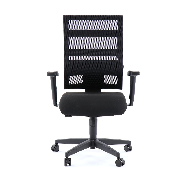 Krzesło Obrotowe Biurowe X Pander Obicie Materiałowe Czarne